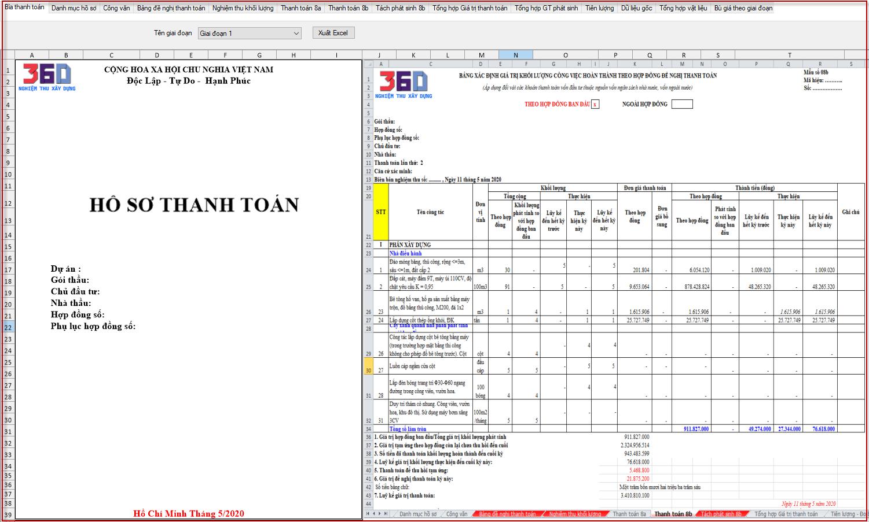 Mẫu thanh toán 8b - TT11/BTC/2020