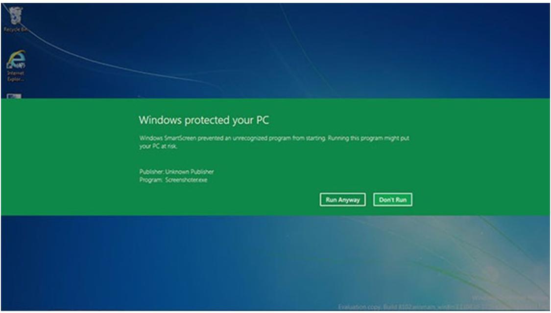 Cách vô hiệu bộ lọc SmartScreen trong Windows 8 hoặc 10