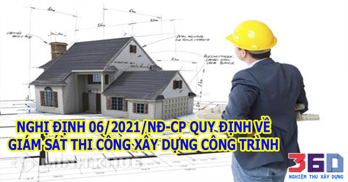 Quy định về giám sát thi công xây dựng công trình mới nhất